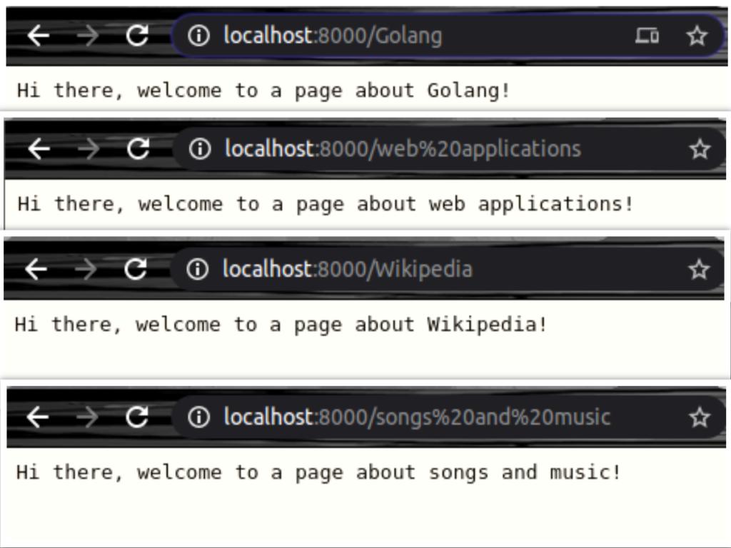 WebApp Output